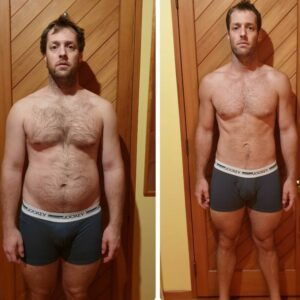 Dean Geddes Client Before and After F