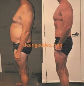 Dean Geddes Client AC Before and After